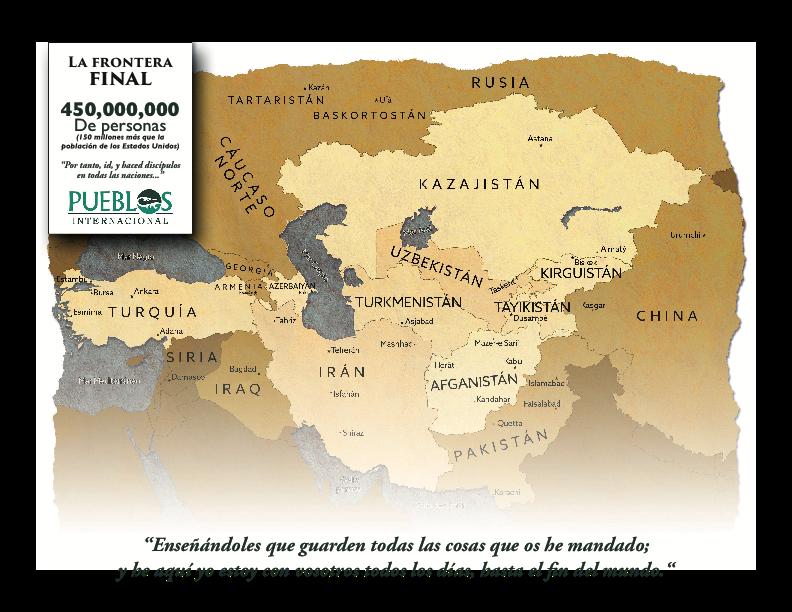 spanish ca map